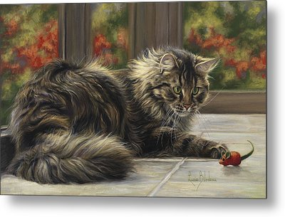 Favorite Toy Metal Print by Lucie Bilodeau