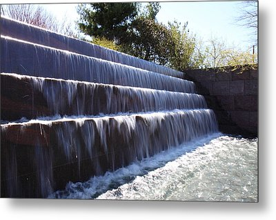 Fdr Memorial - Washington Dc - 01132 Metal Print by DC Photographer