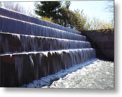 Fdr Memorial - Washington Dc - 01133 Metal Print by DC Photographer
