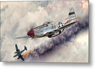Fearless Metal Print by Peter Chilelli
