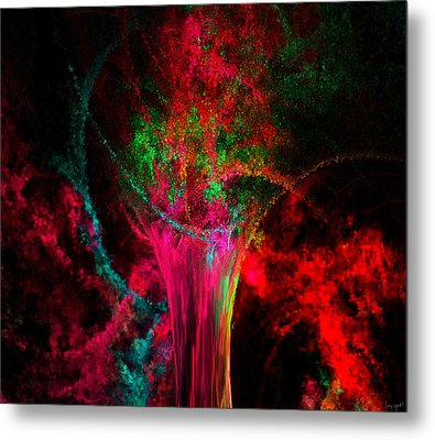 Feast For The Eye Metal Print by Lourry Legarde