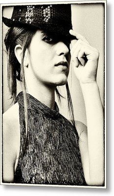 Federica 1 Metal Print by Salvatore Meli