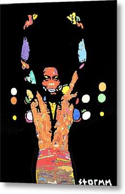 Fela Kuti Metal Print by Stormm Bradshaw