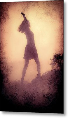 Feminine Freedom Metal Print by Loriental Photography