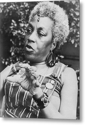Feminist Florynce Kennedy Metal Print by Underwood Archives