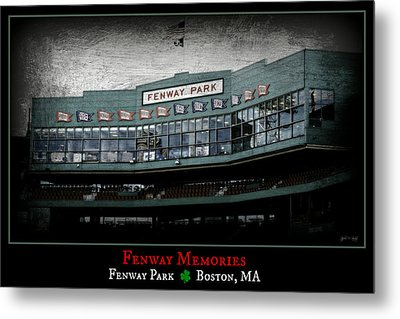 Fenway Memories - Clover Edition Metal Print by Stephen Stookey
