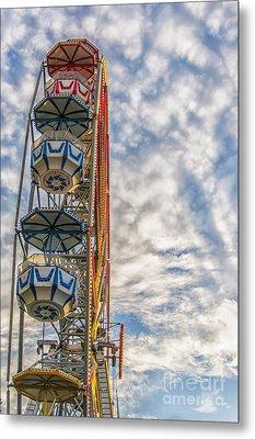 Ferris Wheel Metal Print by Antony McAulay