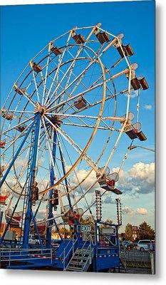 Ferris Wheel Metal Print by Steve Harrington