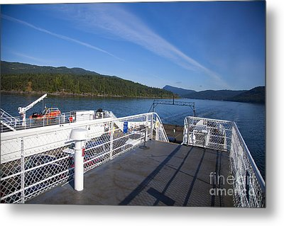 Ferry With Maxwell Metal Print by Graham Foulkes