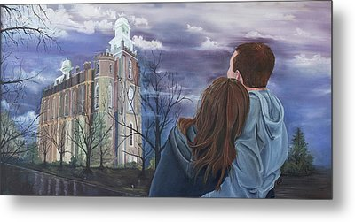 Fiance Metal Print by Jane Autry