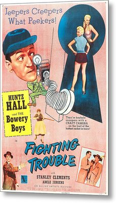 Fighting Trouble, Us Poster, Adele Metal Print by Everett
