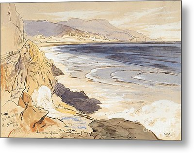 Finale Metal Print by Edward Lear