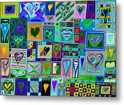 find U'r love found v7 Metal Print by Kenneth James