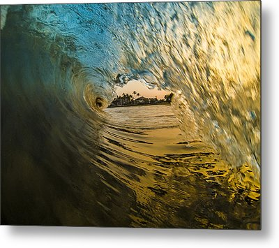 Fire And Ice Metal Print by Brad Scott