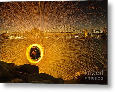Fireflies Metal Print by Andrew Paranavitana