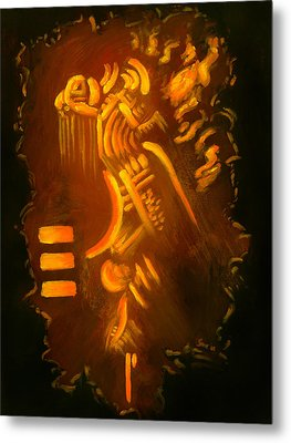 Firesign Metal Print by Sarai Rosario