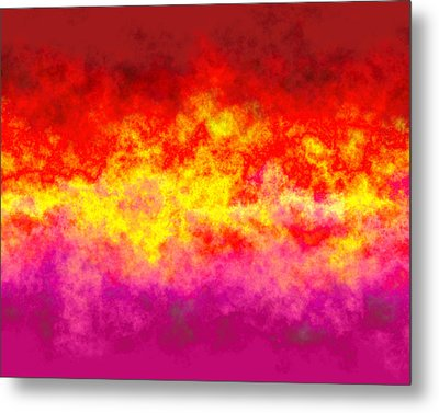Firestarter Metal Print by Wendy J St Christopher