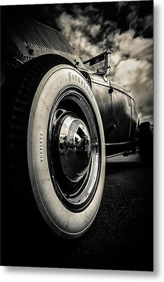 Firestone Ford Roadster Metal Print by motography aka Phil Clark