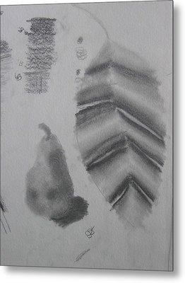 First Drawing Class Metal Print by AJ Brown