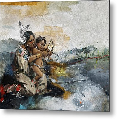 First Nations 19 Metal Print by Corporate Art Task Force