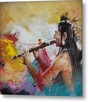 First Nations 22 Metal Print by Corporate Art Task Force