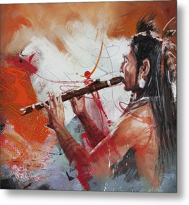First Nations 39 Metal Print by Corporate Art Task Force