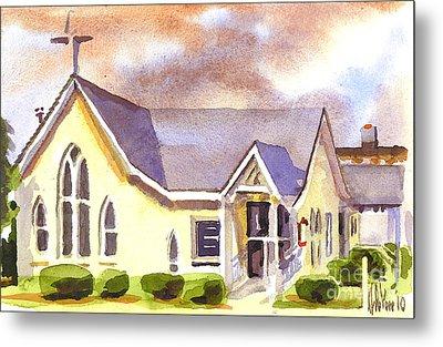 First Presbyterian Church Ironton Missouri Metal Print by Kip DeVore