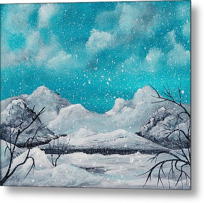 First Snow Metal Print by Anastasiya Malakhova