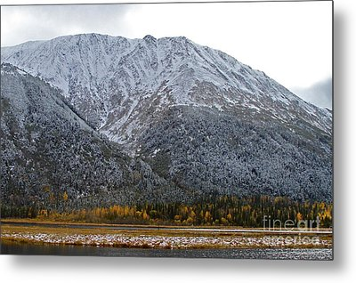 First Snow Metal Print by Rick  Monyahan