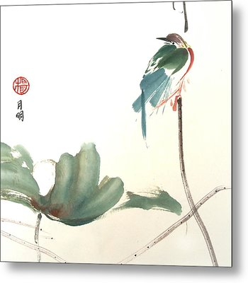 First To Arrive Metal Print by Ming Yeung