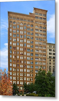 Fisher Building - A Neo-gothic Chicago Landmark Metal Print by Christine Till