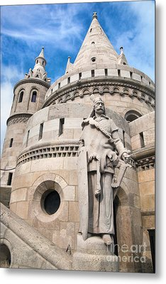 Fisherman's Bastion In Budapest Metal Print by Michal Bednarek