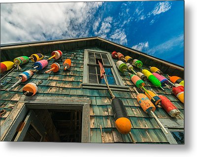 Fisherman's Shack Metal Print by Joseph Rossbach