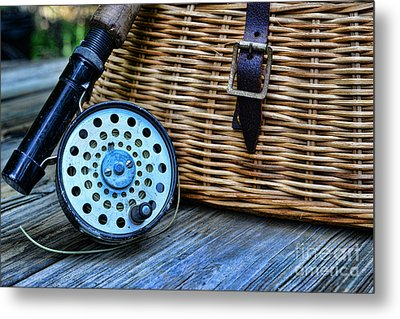 Fishing - Fly Fishing Metal Print by Paul Ward