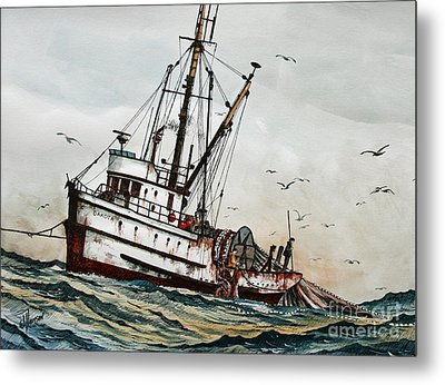 Fishing Vessel Dakota Metal Print by James Williamson