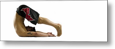 Fit To Fight Metal Print by Lisa Knechtel