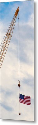 Flag 1 Metal Print by Mike Tanner