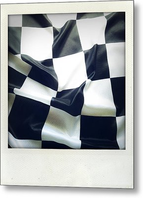 Flag Metal Print by Les Cunliffe