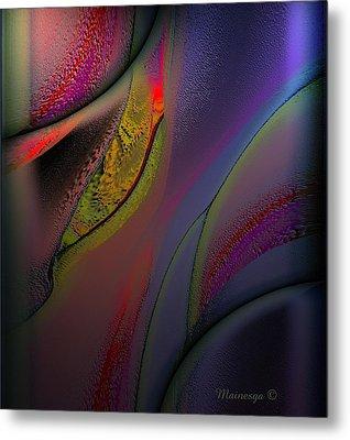Flame-b Metal Print by Ines Garay-Colomba
