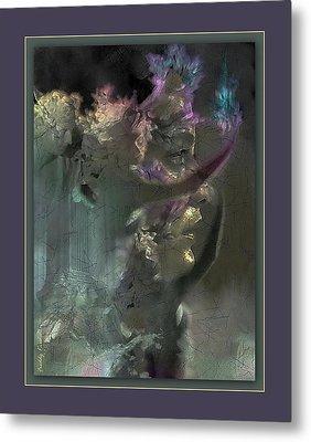Flame Of Beauty Metal Print by Freddy Kirsheh