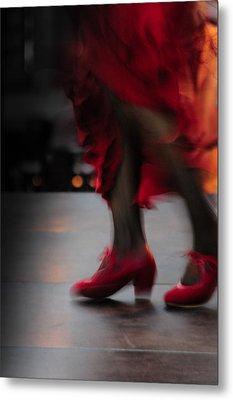 Flamenco Fire Metal Print by Tetyana Kokhanets