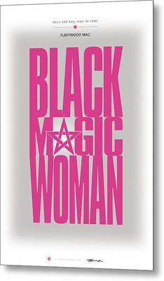 Fleetwood Mac - Black Magic Woman Metal Print by David Davies