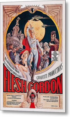 Flesh Gordon, Us Poster Art, 1974 Metal Print by Everett