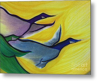 Flight By Jrr Metal Print by First Star Art