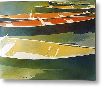 Floaters Metal Print by Kris Parins