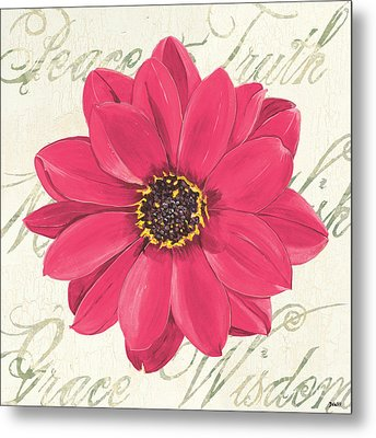 Floral Inspiration 3 Metal Print by Debbie DeWitt