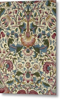 Floral Pattern Metal Print by William Morris