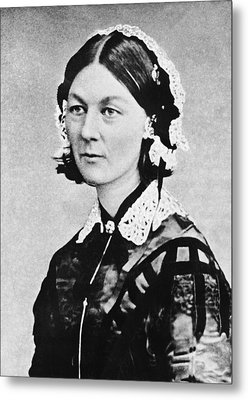 Florence Nightingale Metal Print by Underwood Archives