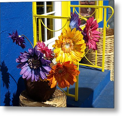 Flores Colores Metal Print by Gia Marie Houck