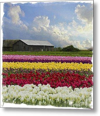 Flower Art - Hope Is Metal Print by Jordan Blackstone